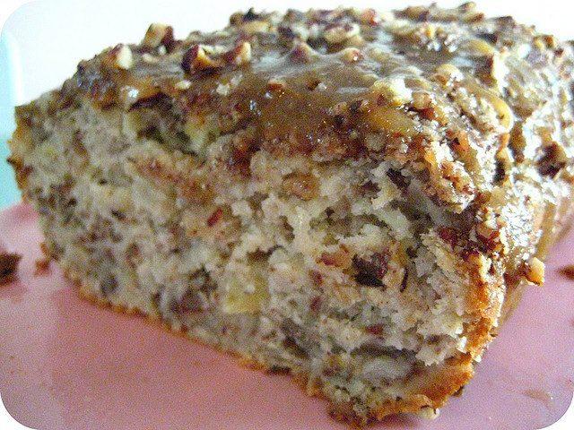 Low Sugar Loaf Cake Recipes: Apple Praline Bread, So Tasty!!